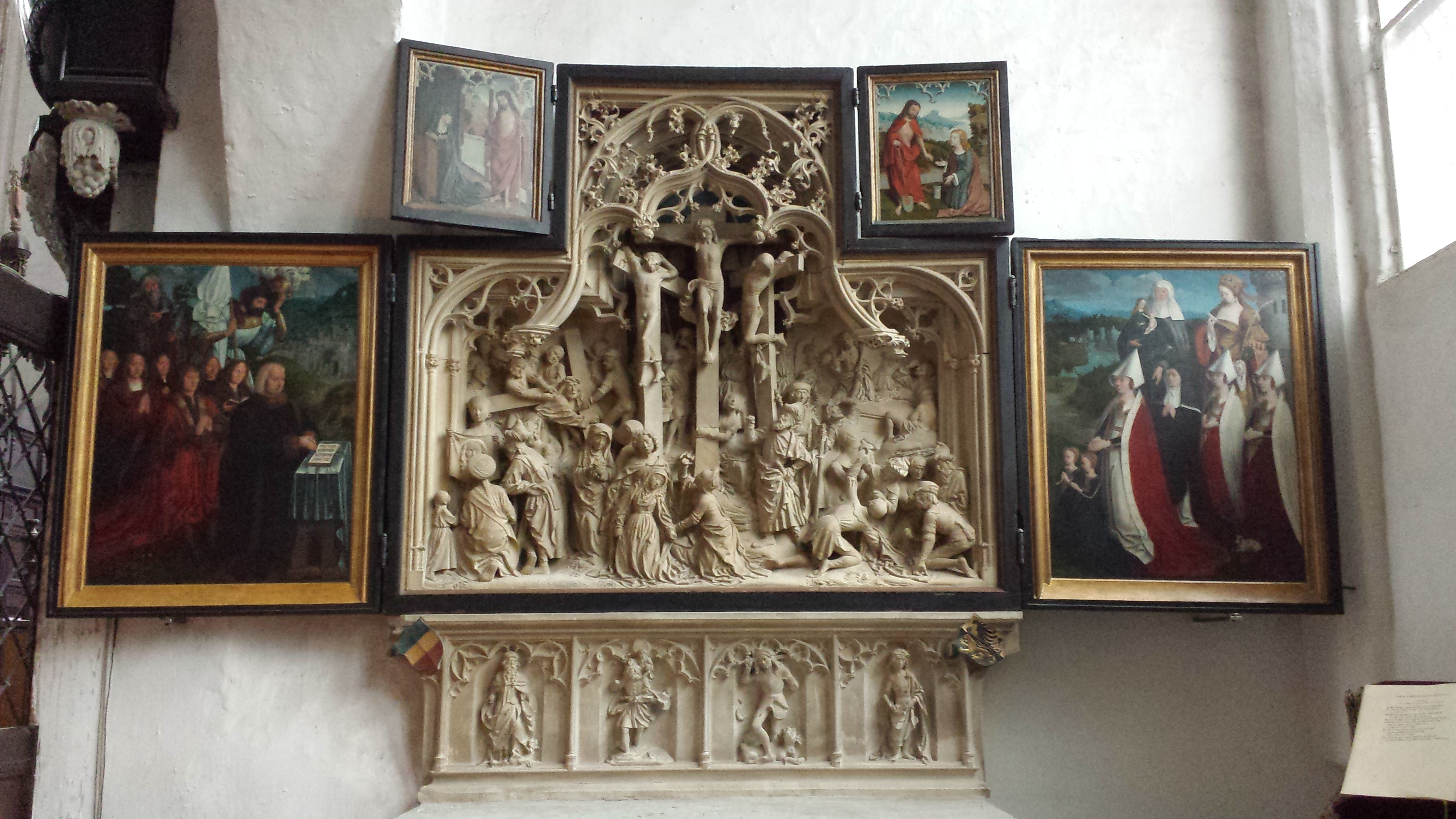 A Triptych From Lubeck Church