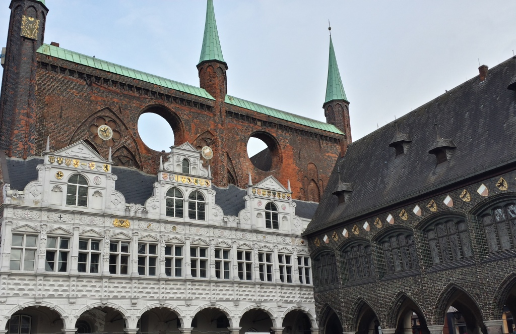 The Lubeck town hall