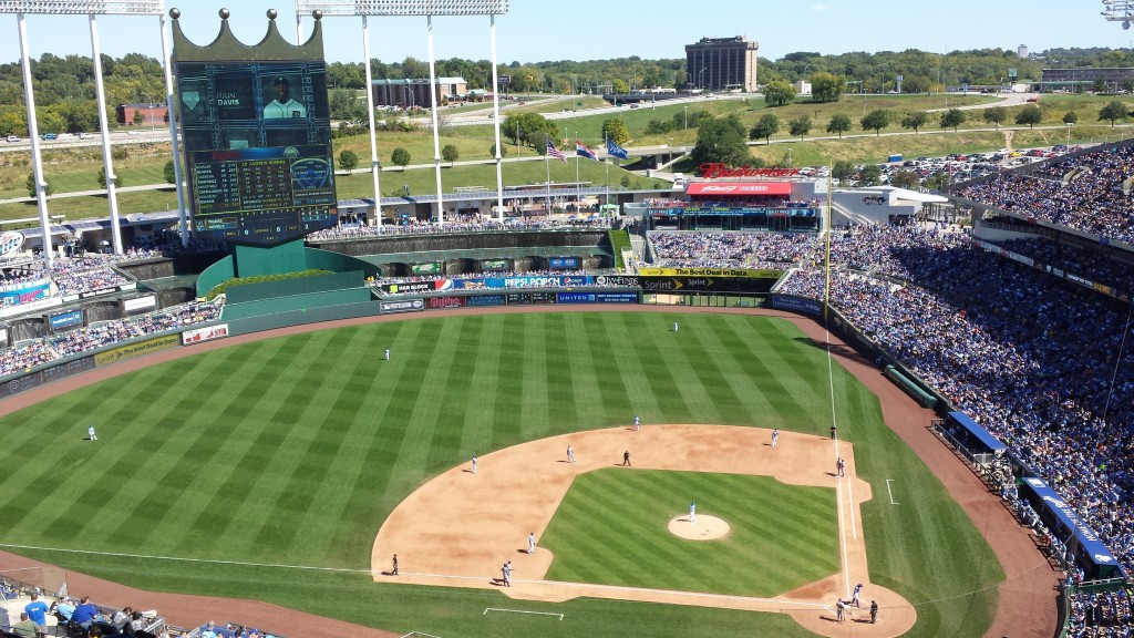A sunny day at the K