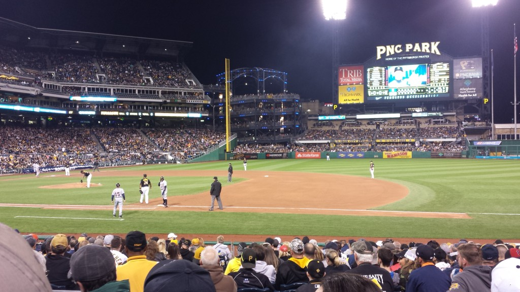 Night at PNC Park