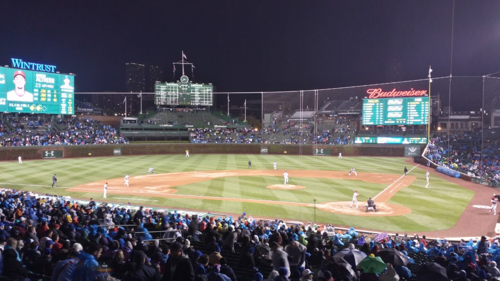 The Cubs versus the Phillies