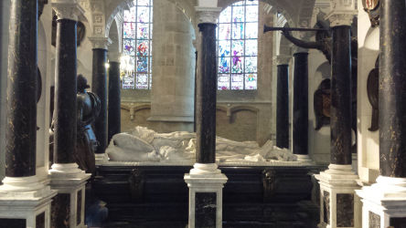 The tomb of William of Orange.