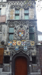 Some of the apartments in Delft are over 500 years old.