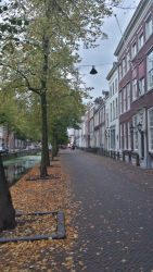 A street in Delft's old town