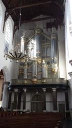 The organ in the Oude Kerk