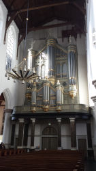 The organ in the Oude Kerk
