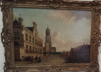 This 18th century painting by Johanne Huibert Prins shows Delft's market square, which has had a market every Thursday since 1246.